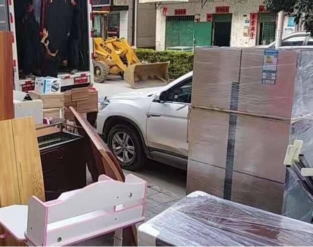 广州搬家公司实拍